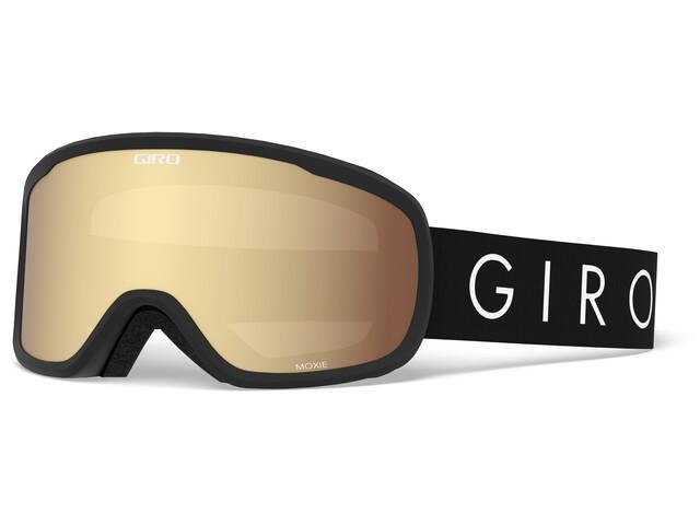 Giro Moxi Maschera Donna, black core light/amber gold/yellow